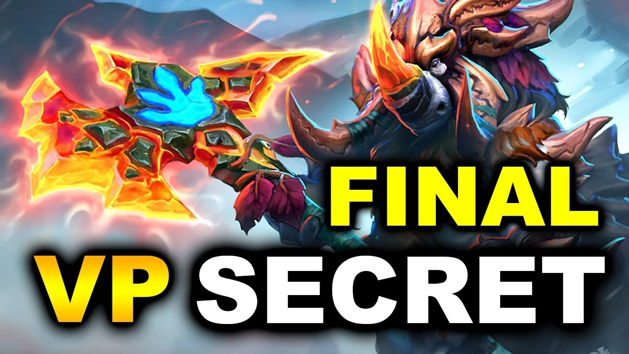 SECRET vs VP - GRAND FINAL - ESL MAJOR HAMBURG DOTA 2