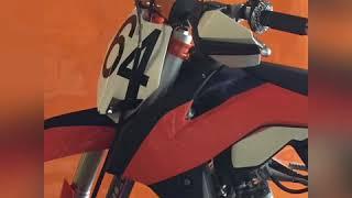 Nouvelle moto cross