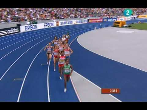 Final 1.500 ml femenino Mundial Berlin 2.009 (Natalia Rodríguez y Nuria Fernández)