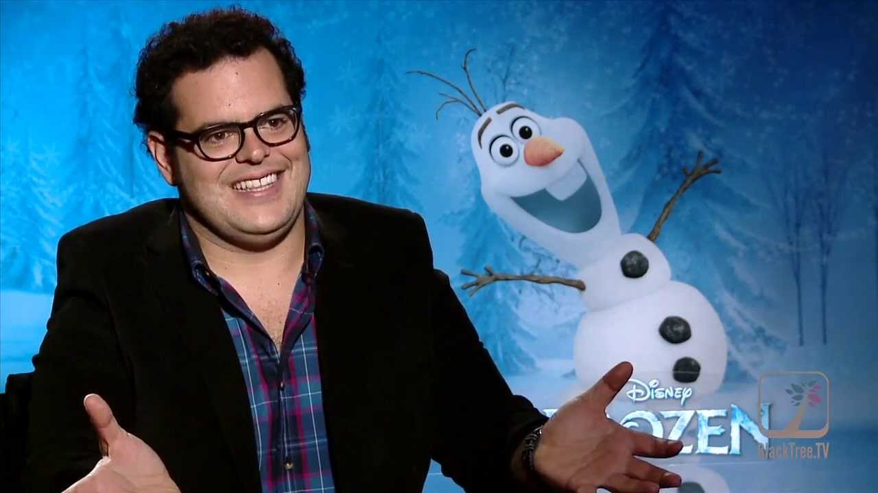 The 'Voice of Olaf' Josh Gad