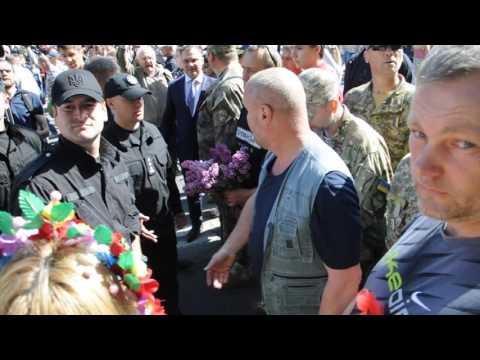 В Николаеве между «правыми» и «афганцами» произошло столкновение