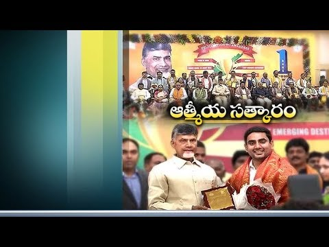 CM Facilitates Award Winning Officials | Amaravati