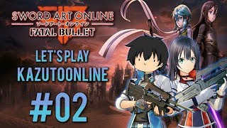 Sword Art Online Fatal Bullet Let's Play/Gameplay - Part 2 - My Waifu Is Better Than Your Waifu