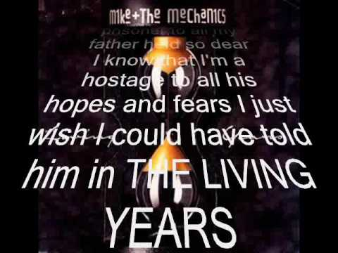 Mike and the Mechanics - The Living Years ( HQ sound - with Lyrics )