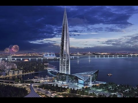Lakhta Center (462m) - Europe's Next Tallest Building - World's Most North Supertall - Лахта Центр