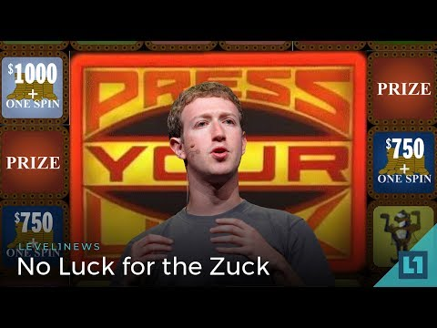 Level1 News April 10 2018: No Luck for the Zuck