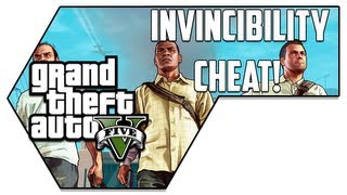 Invincibility Cheat [God Mode]! (REAL) - GTA V (Grand Theft Auto V)