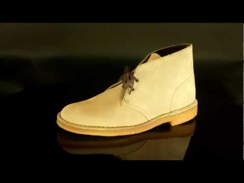 Clarks Originals Desert Boot Wolf Suede.MOV