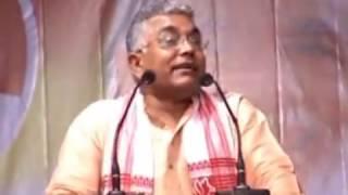 ওঁনার ভায়েরা অস্ত্র ধরলে দোষ হয় না, যত দোষ দিলীপ ঘোষ:দিলীপ। Jato dosh Dilip Ghosh:Dilip