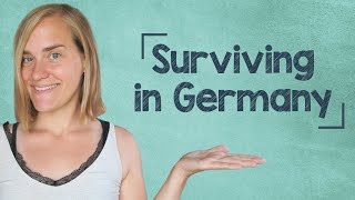 German Lesson (40) - German for Beginners - Surviving in Germany - A1