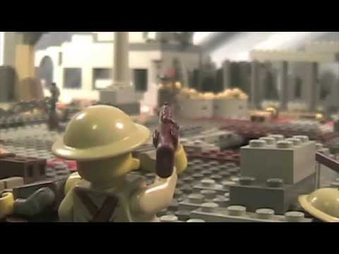 Lego WW2 Battle of Monte Cassino Music Videos