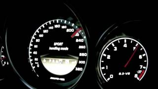 Mercedes C 63 AMG Coupé 0-280 km/h (Motorsport)