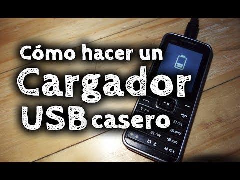 Cómo hacer un cargador USB casero