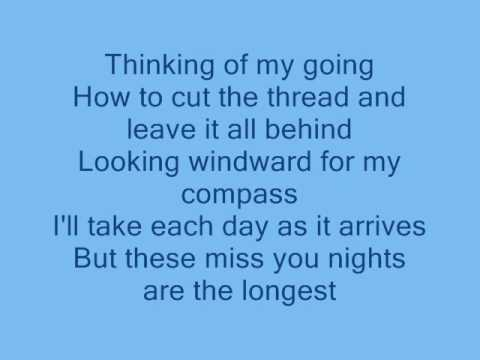 Art Garfunkel - Miss You Nights