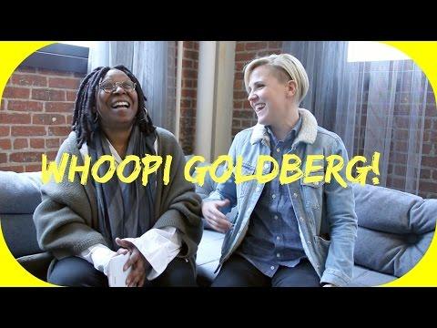 WHOOPI GOLDBERG TALKS ABOUT STAR TREK