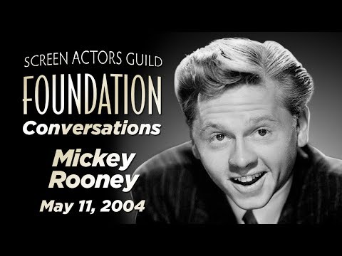 Conversations with Mickey Rooney