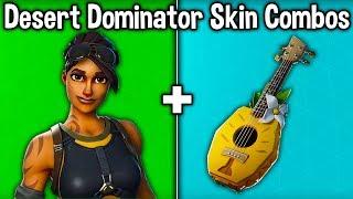 20 BEST 'DESERT DOMINATOR' SKIN + BACKBLING COMBOS! (Fortnite New Best Skin)