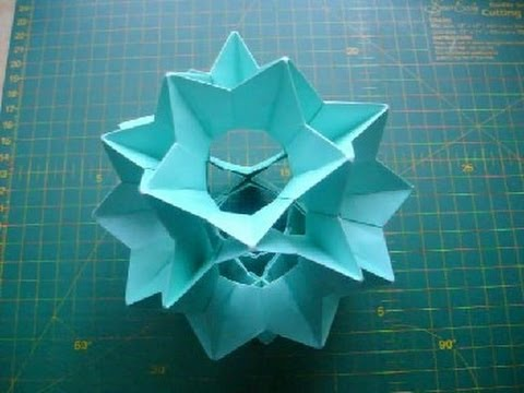 Оригами кусудама Электра (без