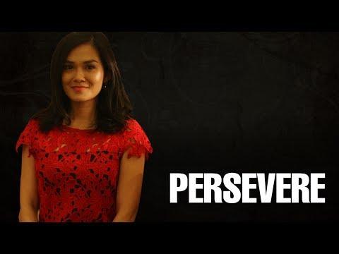 NEWS: Melissa Sasidaran: Don't give up