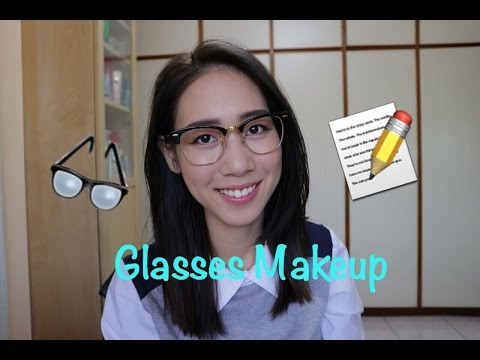 戴眼鏡的妝容 l Makeup For Glasses(Talk Through Full Face)