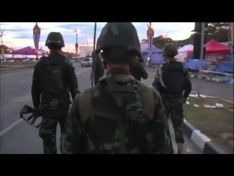 Thailand Under Martial Law, Constitution Suspended