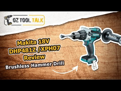 Makita Brushless 18V Hammer Drill DHP481 / XPH07 Review