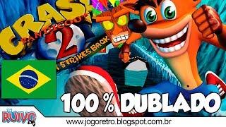 Crash Bandicoot 2 Cortex Contra-Ataca DUBLADO em Português no Playstation 1