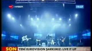 Eurovision 2011 Turkey Yuksek Sadakat Live it up HD