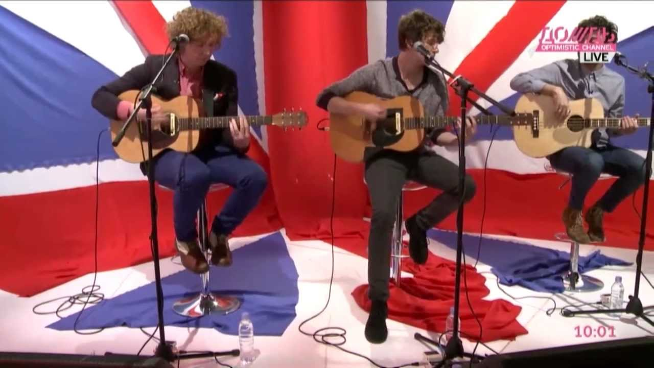 The Kooks Sofa Song Live Acoustic Session On Live Youtube