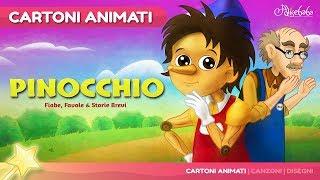 Pinocchio storie per bambini   Storie della buonanotte   Cartoni animati Italiano