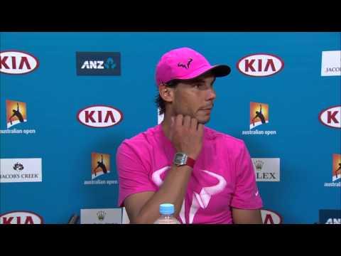 Rafael Nadal press conference (3R) - Australian Open 2015