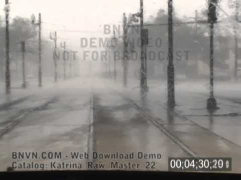8/29/2005 Hurricane Katrina Video, New Orleans, LA - Escape the rising waters. Katrina Master 22