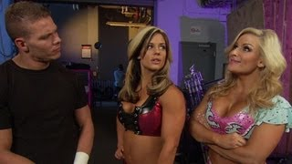 Natalya catches Tyson Kidd and Kaitlyn talking: WWE NXT -