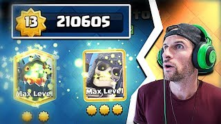 Spending 210,000 STAR LEVELS in CLASH ROYALE!