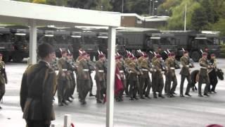 749 Tamera Platoon The Parachute Regiment Passing Off The Square 12th October 2012