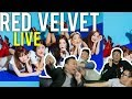 "RED VELVET ""WITH YOU"" we can ""POWER UP"" (Live stage Reactions)"
