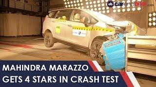 Exclusive: Mahindra Marazzo Gets 4 Stars in Crash Test | NDTV carandbike
