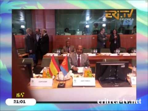 Eri-TV - Eritrea at the 4th EU Africa Summit 2014