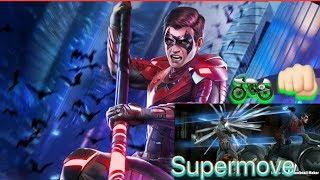 Injustice 2 mobile Nightwing supermove
