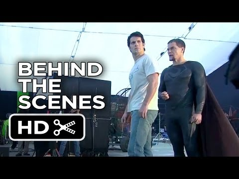 Man Of Steel Behind The Scenes - Legendary Roles (2013) - Superman Movie HD