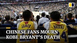 Chinese fans mourn Kobe Bryant's death on social media