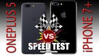 OnePlus 5 vs iPhone 7 - Speed Test (Xiaomi Mi6, You're NEXT!)