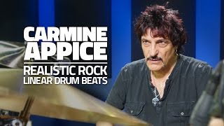 CARMINE APPICE - Linear Drum Beats (FULL DRUM LESSON)