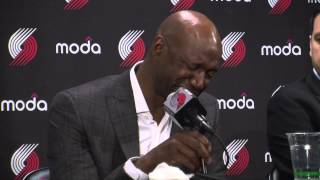 Terry Porter remembers Blazers great Jerome Kersey