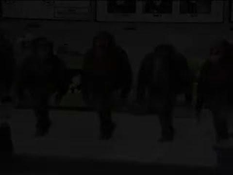 monos bailando