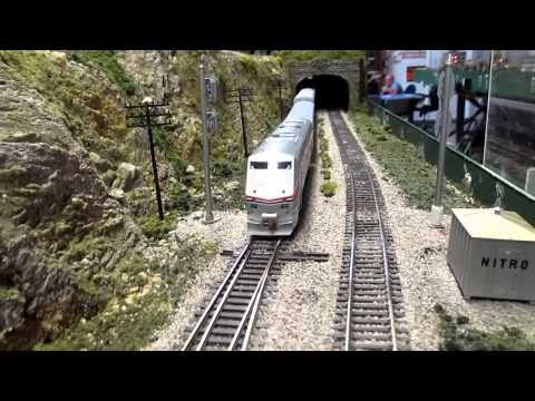 More Amtrak GE P42 Action! Running Moonshine (part 1)