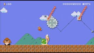 Mario maker part 10 Reunion and Malarky