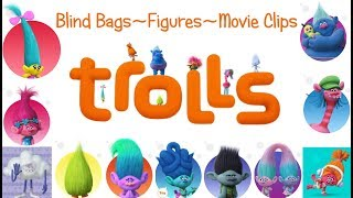 Trolls Blind Bags + My Busy Book Figures!