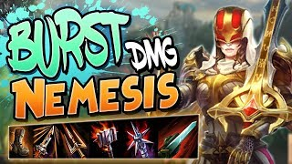 Smite: Burst Damage Nemesis Build - SHE JUST DISAPPEARED!
