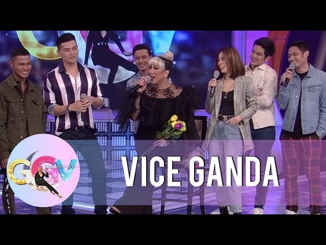 Joshua, JM, Erik, and BuDaKhel share their precious moments with Vice Ganda | GGV